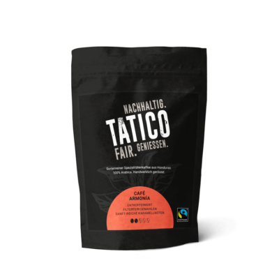 Verpackung Tatico Café Armonia - filterfein gemahlen