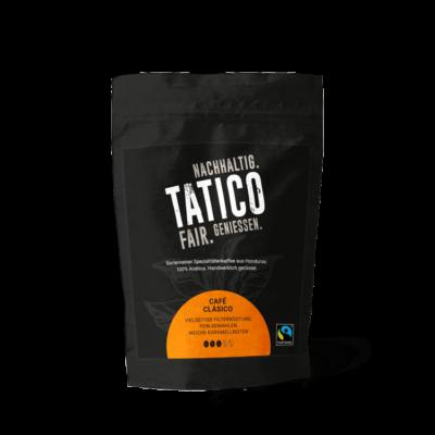 Verpackung Tatico Café Clásico - filterfein gemahlen