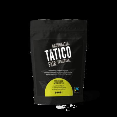 Verpackung Tatico Espresso Despierto - filterfein gemahlen