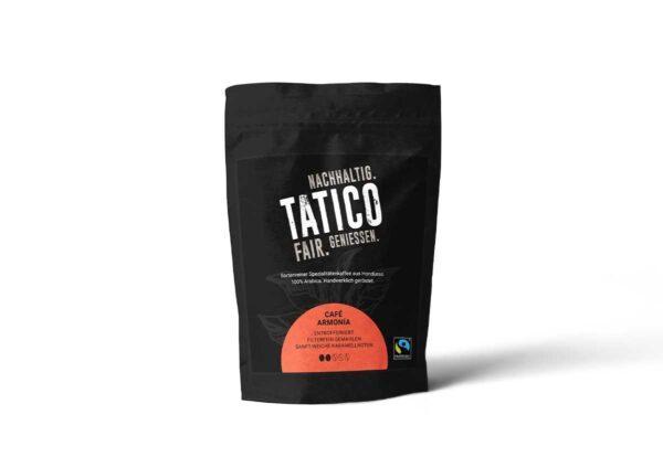 Verpackung Tatico Café Armonia - filterfein gemahlen 250g