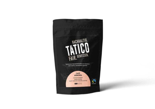 Verpackung Tatico Café Armonia - ganze Bohne 250g