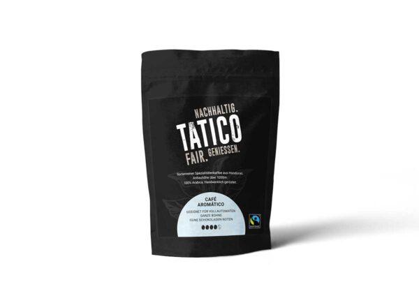 Verpackung Tatico Café Aromático - ganze Bohne 250g