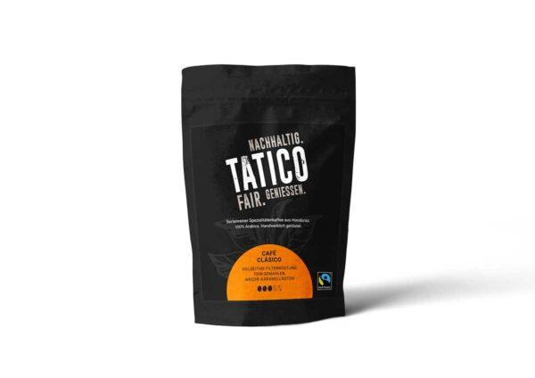 Verpackung Tatico Café Clásico - filterfein gemahlen 250g