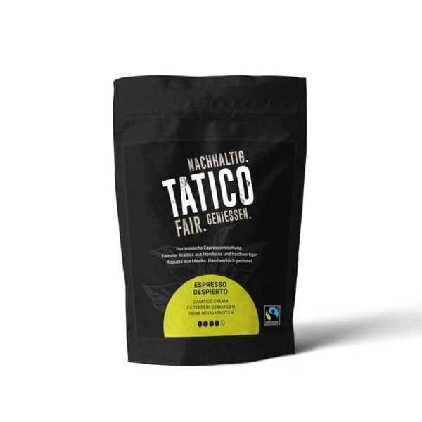 Verpackung Tatico Espresso Despierto - filterfein gemahlen 250g